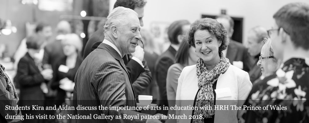 HRH The Princ of Wales